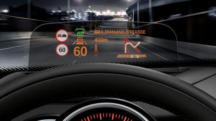 MINI Cooper 3 Door head-up display