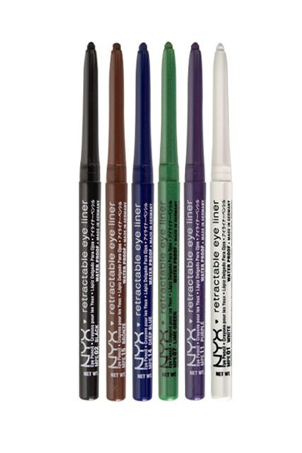 These eyeliners have a soft cream-to-powder finish that take a bit of time to set, but that's actually a good thing because it allows ample time to blend and smudge. Once set, the long-wearing finish is resistant to smearing and doesn't flake.