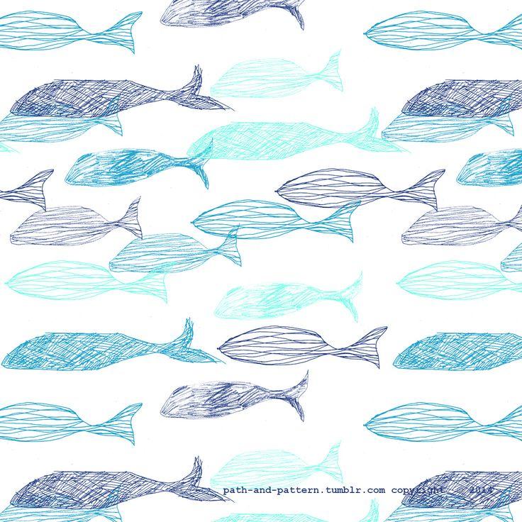 ocean fish wallpaper pattern - photo #36