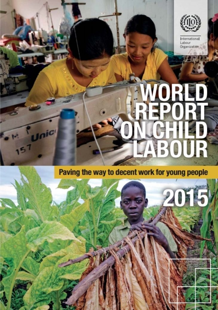 World Report on Child Labour 2015: Paving the way to decent work for young people(EBOOK) FULLTEXT: http://www.ilo.org/ipecinfo/product/download.do?type=document&id=26977