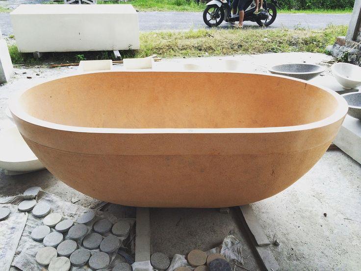 Wanne Freistehend 37 besten badewanne stein bilder auf