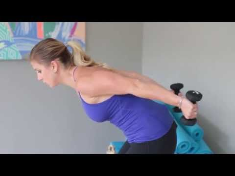 Slim 'n' Sculpted Arm Workout for Women: Barre Inspired - Sarah Fit