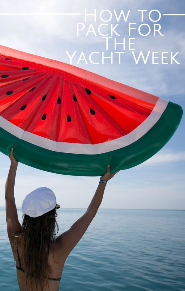 How to Pack for The Yacht Week