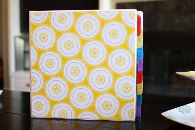 Sunny Side Up: Home Decor Binder