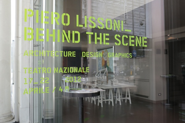 Piero Lissoni   Behind the Scene @ Teatro Nazionale Milano