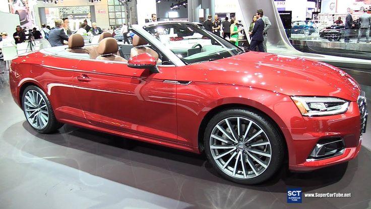 2018 Audi A5 2.0T Quattro - Exterior and Interior Walkaround - 2017 New ...