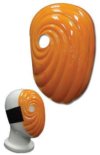 Naruto Shippuden Tobi Cosplay Costume Mask