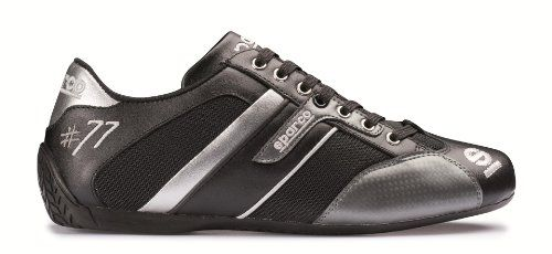Sparco 00120443NRGR Time 77 Black/Gray Shoe Sparco