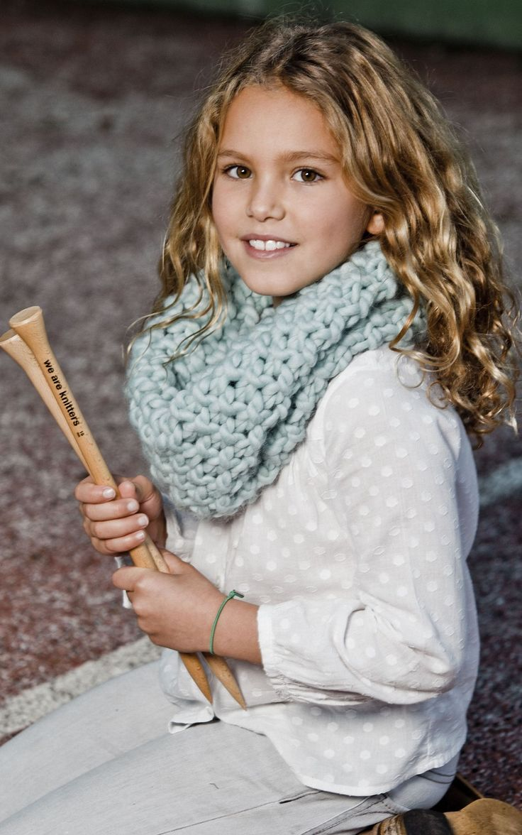 MINI DOWNTOWN SNOOD in Aqua | WE ARE KNITTERS