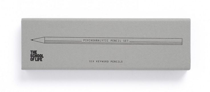 The School of Life : Psychoanalytic Pencil Set