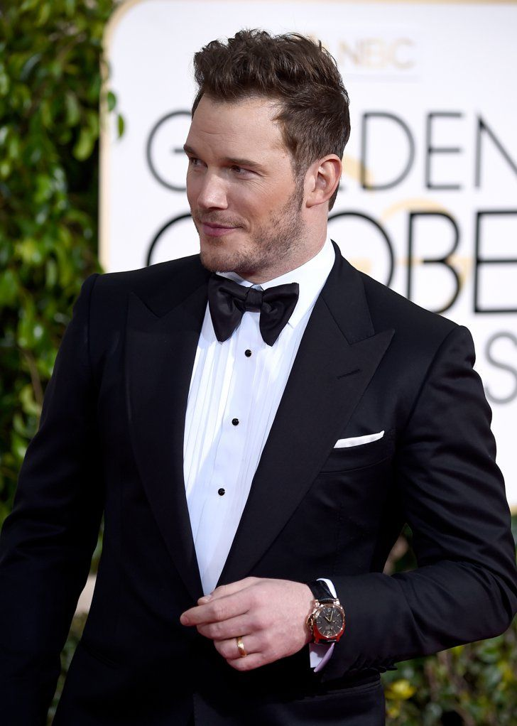 Pin for Later: Die heißesten Typen bei den Golden Globes Chris Pratt