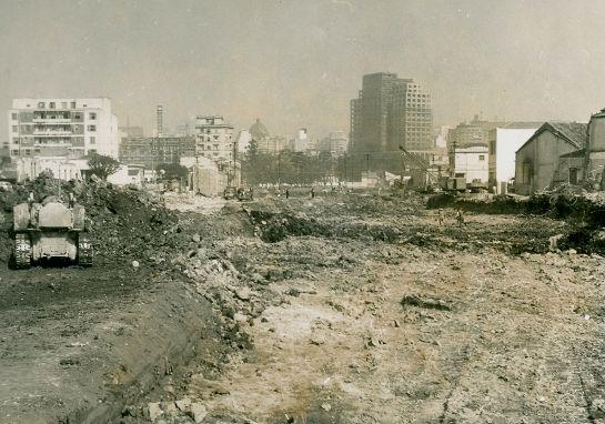 0067-Obras de implantação da Avenida Alcântara Machado, ca 1950