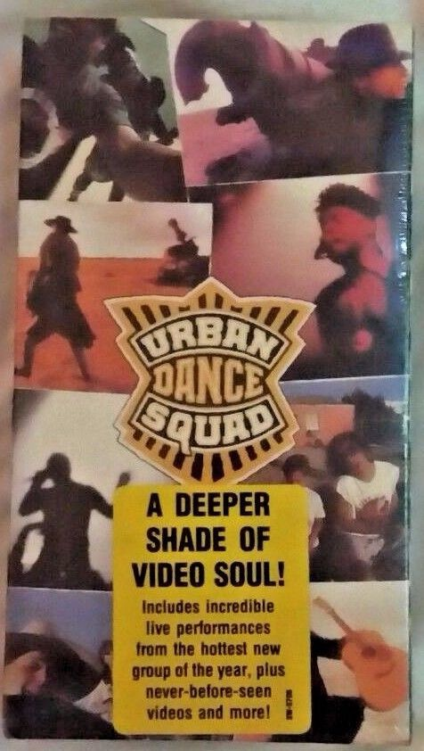 Urban Dance Squad - Mental Floss for the Globe - The Video (VHS, 1991) FREE SHIP