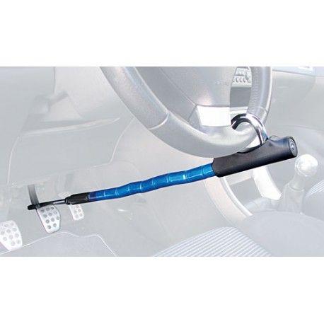 Antirrobo Artago - Volante - Pedal - Plus Referencia  880/B Marca:  Artago Secure  Cierre basculante reforzado.  Cable de acero y blindaje de casquillos y bolas de acero.  Cerradura tubular con bola anti-taladro.  Fabricado en Europa con la más avanzada tecnologia.
