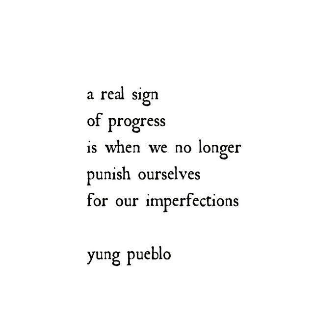 Let those days be long long gone. Thx @yung_pueblo