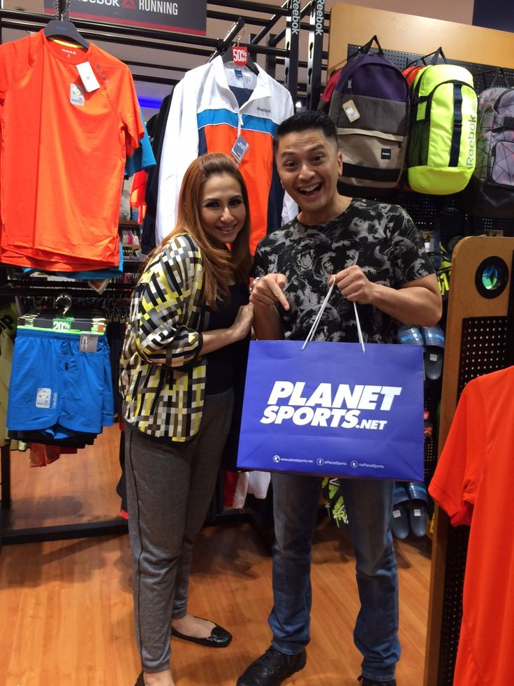 Deswita Maharani & Ferry Maryadi at Planet Sports Senayan City