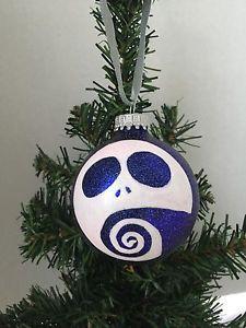 the nightmare before christmas jack skellington purple tim burton ornament ebay - Tim Burton Halloween Decorations