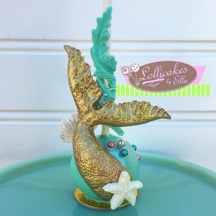 Channeling my inner Mermaid, double click if you are in need of a new mermaid tail, my original design and hand sculpted since I can't find a good one and just resorted in making my own, will be posted on etsy when i get back from vacation #mermaidtail #mermaidtailcakepops #mermaidtailmold #handsculpted #mydesign #myoriginalmermaidtail #undertheseacakepops #lollicakesbyella #cakepops #cakeballs used fondant details @fantasiafondant