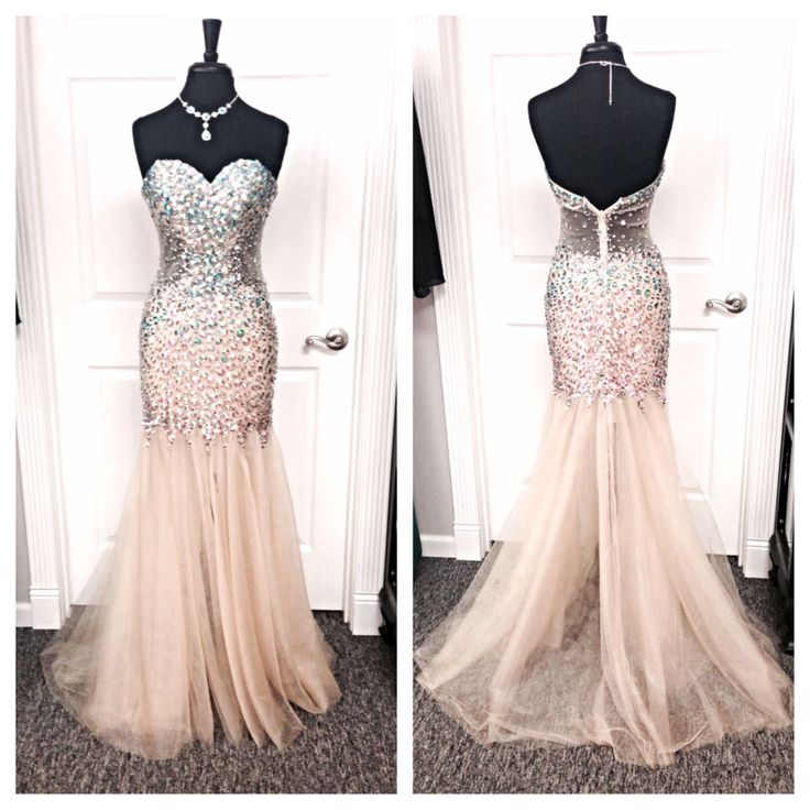 Champagne Colored Homecoming