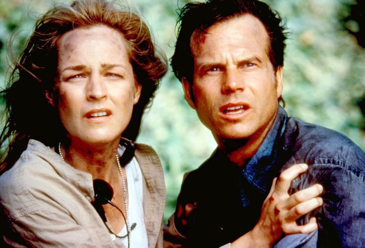 Twister (1996) This classic disaster film put Paxton and Helen Hunt in the eye of a storm — literally — and the high-grossing movie led to Paxton's star rising even higher.