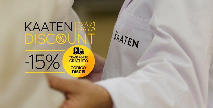 Oferta especial del 25 al 31 de mayo de 2015. Cortinas baratas online en tu tienda Kaaten. ¿A medida, estándar? Poco importa, ¡todo tiene un descuento del 15%!
