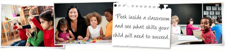 Peek inside a classroom and see what skills your child will need to succeed.
