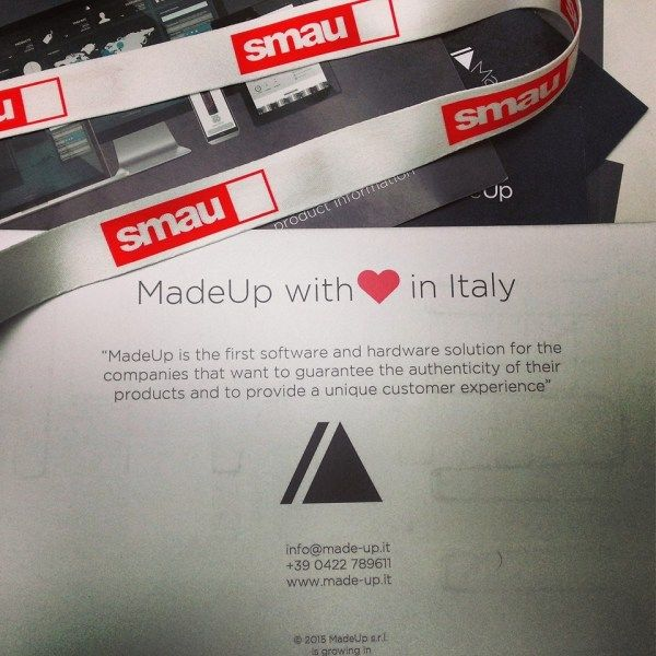 To ensure the originality of the product, to curb counterfeiting, to improve the #communication #company- score: all through the tag #innovative #MadeUp - Claudia Proietti online on #TomatoMag   http://www.tomatomag.com/magazine/en/madeup-made-in-italys-protection-also-passes-by-an-anti-counterfeiting-technology/    #tech
