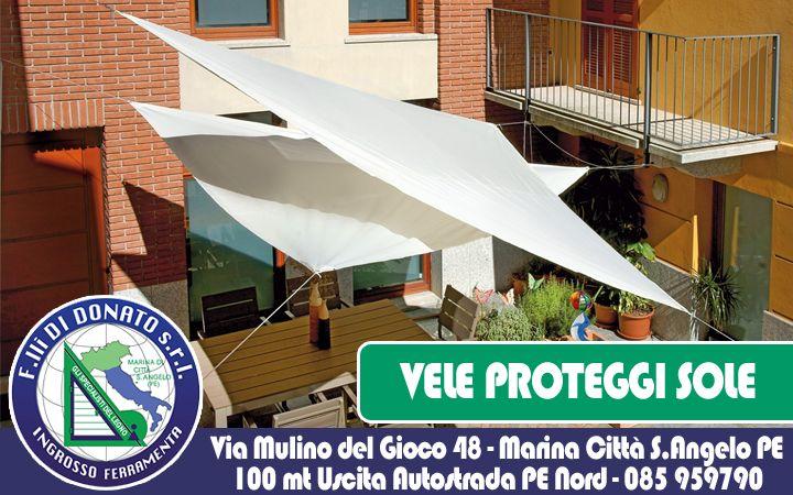 F.lli Di Donato | Protezione Solare: Scopri le Nostre Vele
