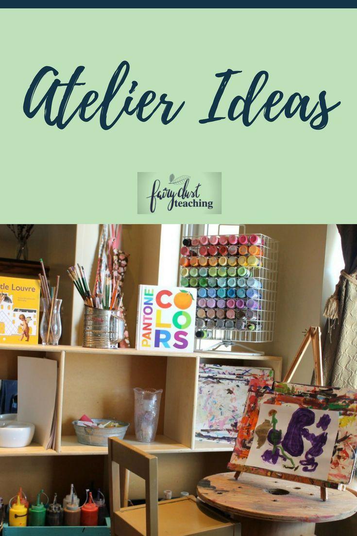 Atelier Ideas   Fairy Dust Teaching   Reggio Inspired Ideas   Preschool Art