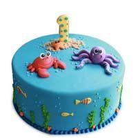 Sea Animals Cake