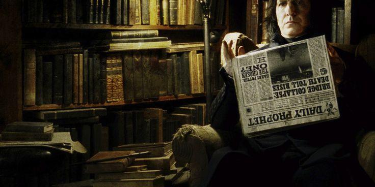 Alan Rickman Snape | снейп, алан рикман, severus snape, alan rickman ...