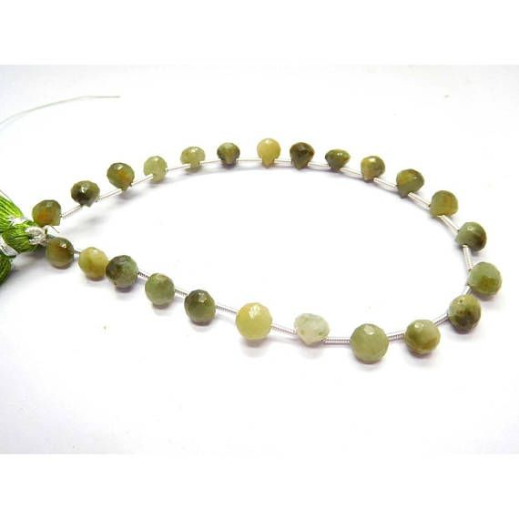 Loose Stone Beads Craft Supply Green Cats Eye Faceted Onion Shape Beads Earth Mined Gemstone 5-6 Mm 8 Strand by BeadsncrystalsStudio https://www.etsy.com/listing/570029148/loose-stone-beads-craft-supply-green?ref=rss&utm_campaign=crowdfire&utm_content=crowdfire&utm_medium=social&utm_source=pinterest