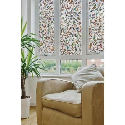 Artscape 24 in. x 36 in. New Leaf Decorative Window Film-02-3021 at The Home Depot