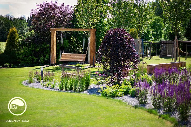 Čimelice, zahrada s houpačkou | Atelier Flera