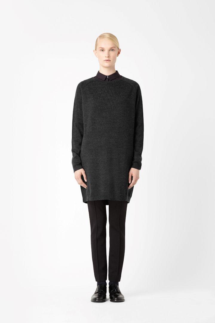 Merino jumper dress