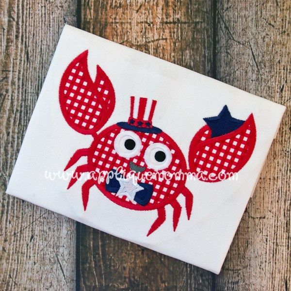 4th of july applique designs