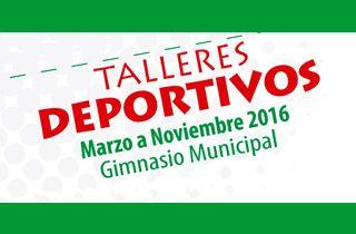 Talleres Deportivos 2016