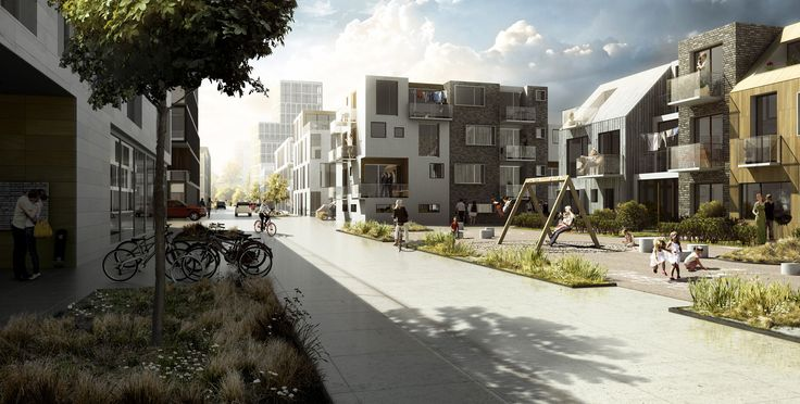 Vinge Masterplan Proposal,Courtesy of EFFEKT + Henning Larsen Architects