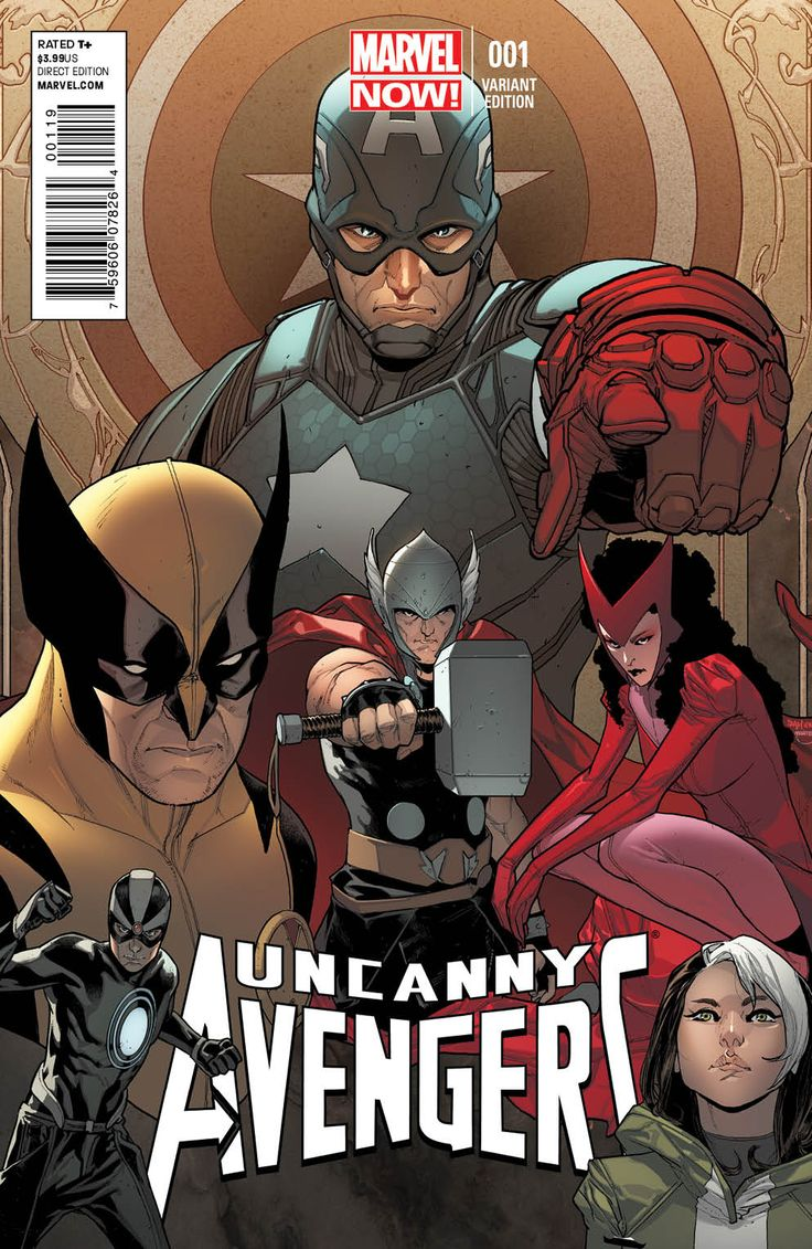 Uncanny Avengers by Sara Pichelli