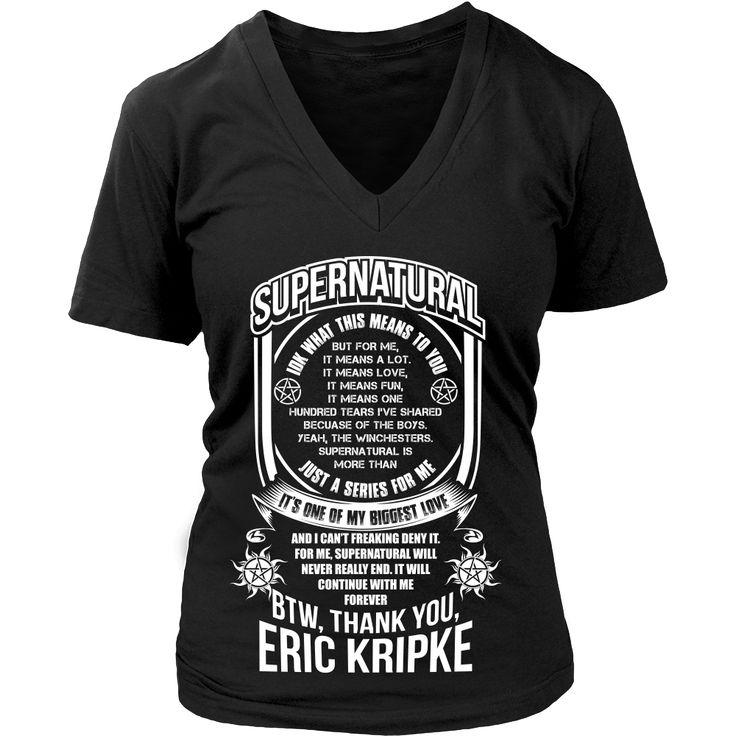 Eric Kripke - Apparel