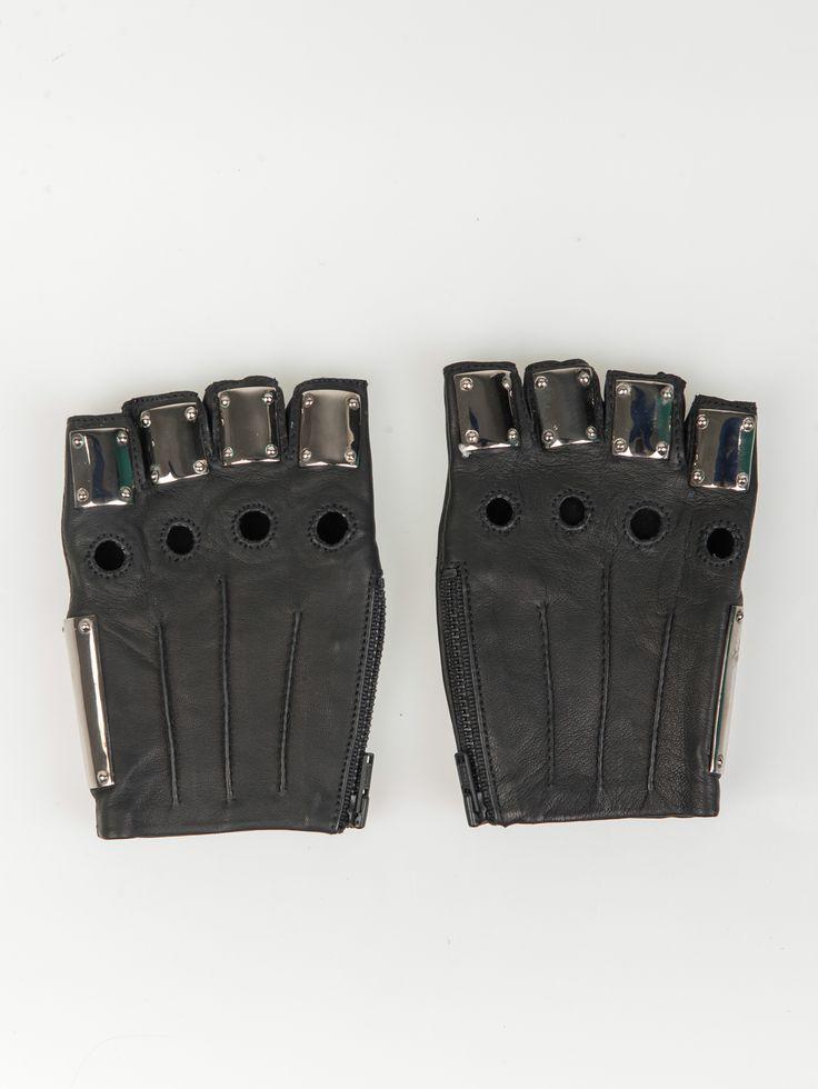 MAJESTY BLACK , Armor Eldiven Gunmetal #shopigo#shopigono17#womenswear#ss15#madonna#majestyblack