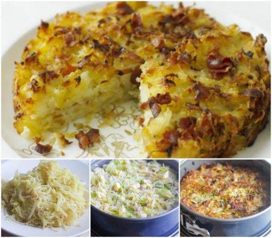 Potato Rosti Cake Recipe Is A Taste Sensation