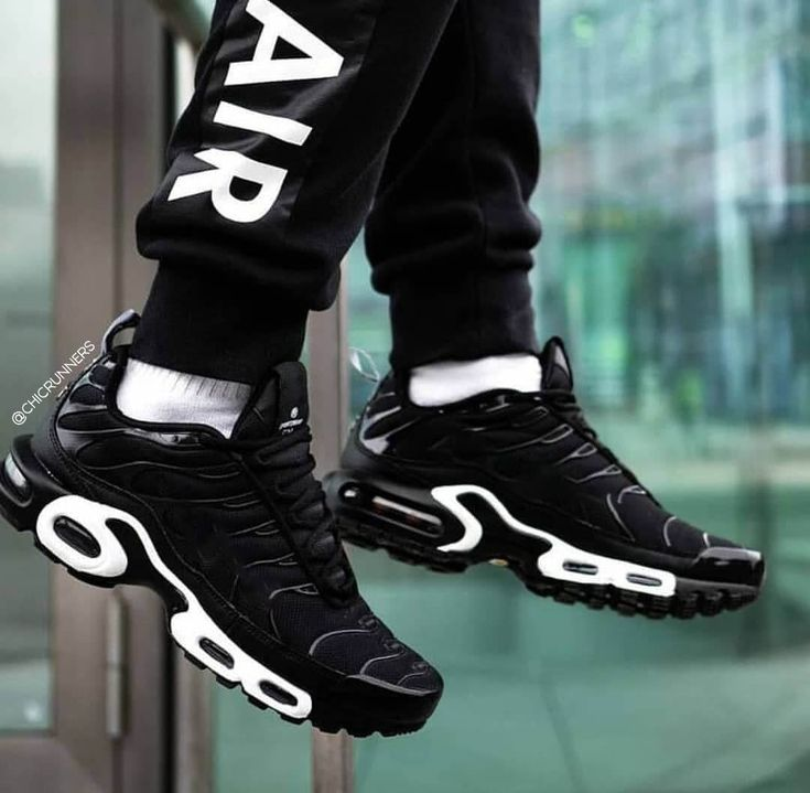 TN Plus Geometric Active Fuchsia Black Mens Women Running Shoes ...