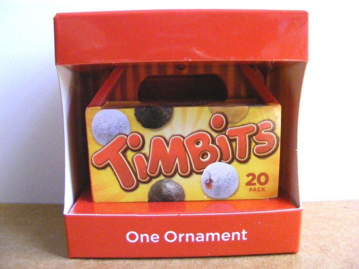 Tim Hortons 2014 Timbits Box Christmas Ornament, Support Wildlife Rehab #TimHortons #cashforcritters #ebay