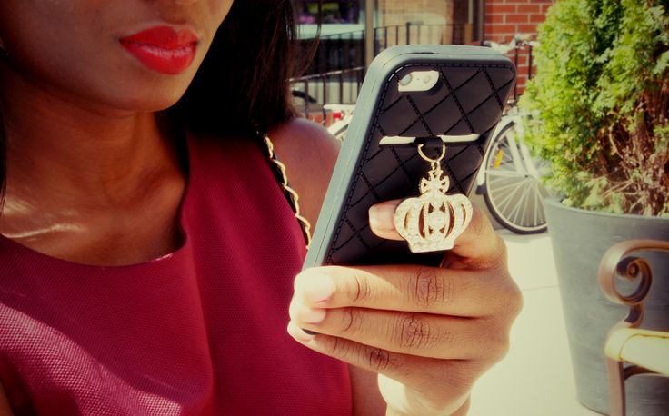 Adorned By Love iconic iPhone 5 case