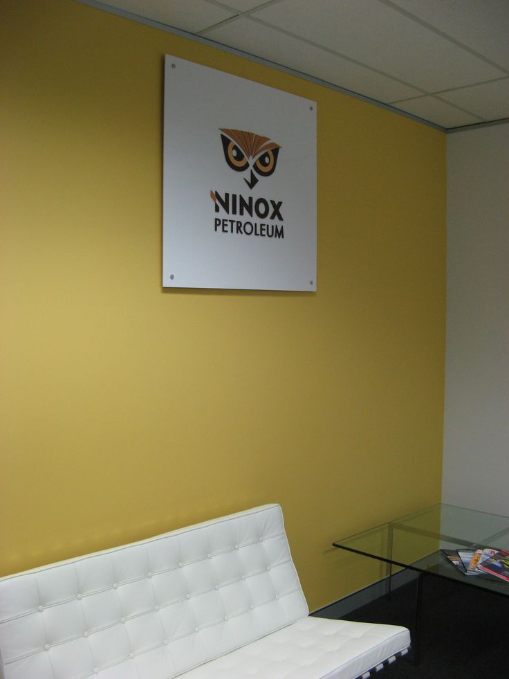 Ninox Petroleum #CSI #reception #signage