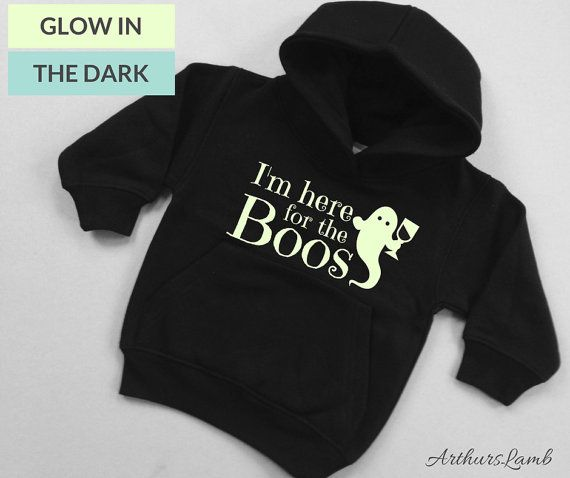 Are you going Trick or Treating or to a Halloween Party? Then why not had a bit of humour to the occasion with this Im Here For The Boos Halloween Hoodie. This cute ghost graphic and funny slogan makes unique Halloween costume and a great Halloween sweater or jumper. These Black Hoodies with their Glow in the Dark graphics are a great lightweight hoodie. They have a brushed effect for superior comfort and an extra soft feel, the fabric is reactive dyed which means colours will stay fresh…