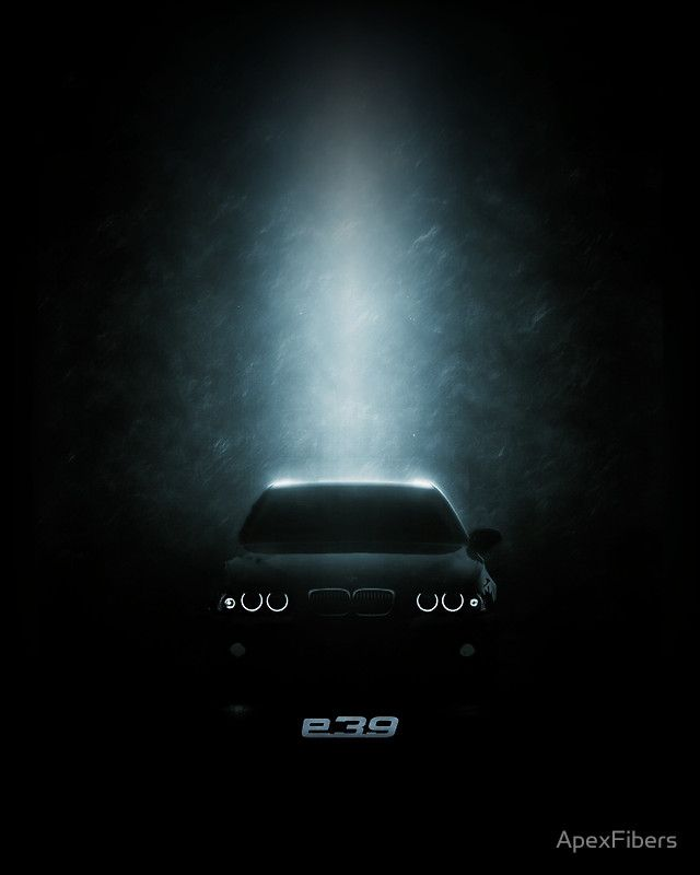 BMW E39 in the dark  #m5  #5series
