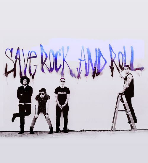 """Save Rock And Roll is probably one of the very best albums I have heard in a really long time and if you haven't heard it yet, so give it a listen because I promise that you will love it."""