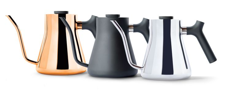 Beautiful minimalist design meets perfect functionality for the design conscious coffee lover